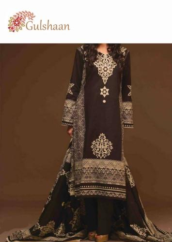 Shalwar Kameez Noir et Blanc