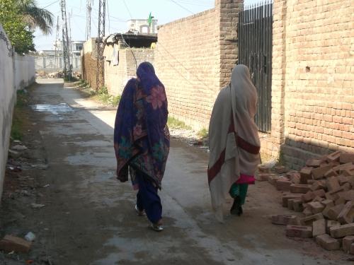 Dupatta, ou l'immense voile pakistanais