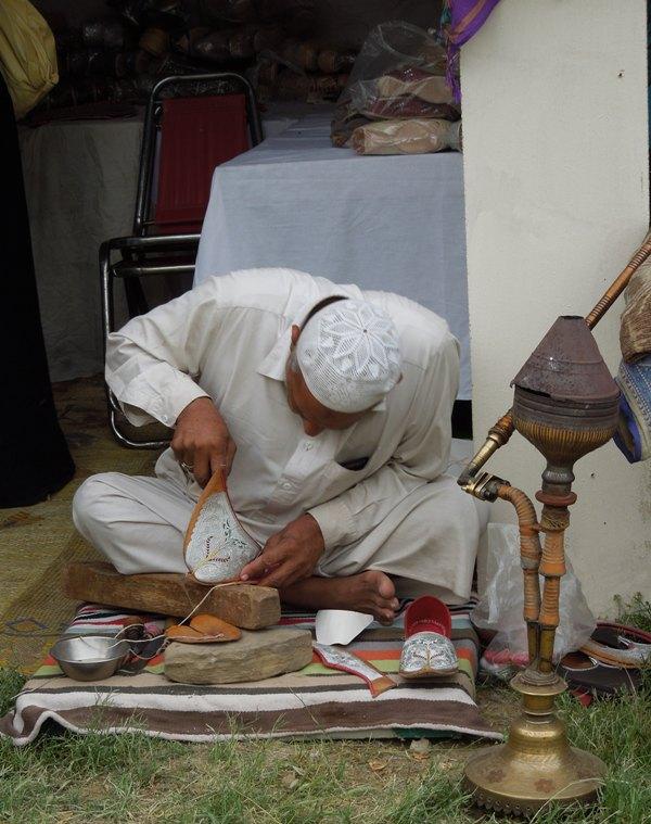 Fabrication des khussas