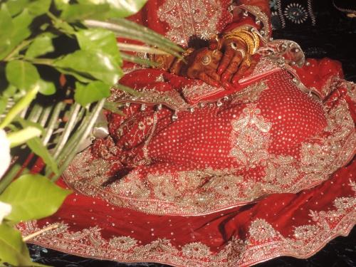 Gulshaan mariée pakistanaise