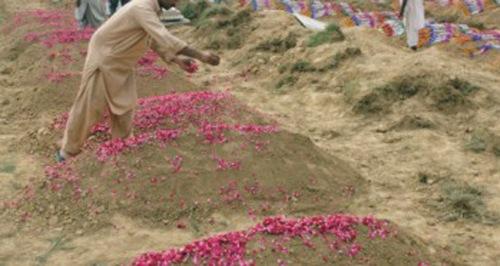 Gulshaan cimetière pakistan