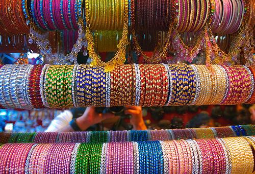 Bracelets de verre