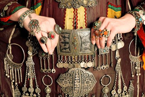Bijoux Pashtounes