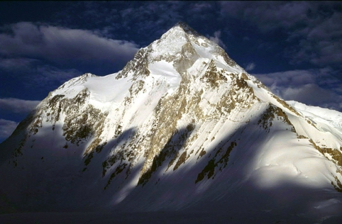 Gasherbrum 1, Karakorum, Pakistan, 8068 m