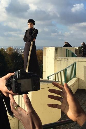Shooting Gulshaan Paris