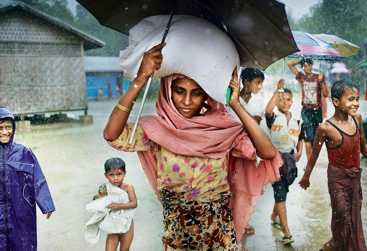 Vous m'avez oubliée, et je mourrai sans bruit #rohingya